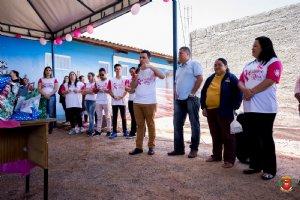 Fotos: Outubro Rosa - Distrito de Itaoca