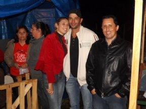 Andressa, José Antonio e Niltinho