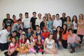 REINAUGURA��O DA BIBLIOTECA MUNICIPAL 10/03