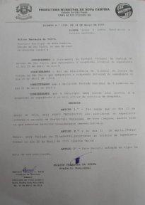 DECRETO N.°1749,DE 14 DE ABRIL DE 2015,DISPÕE SOBRE FACULTATIVO E FERIADO NACIONAL.