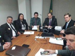 PREFEITA PARTICIPA DE AUDIÊNCIA COM MINISTRO DA SAÚDE