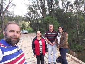PREFEITURA DE NOVA CAMPINA RECONSTRÓI PONTE DE ACESSO À COMUNIDADE DO SALTINHO