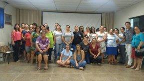 PREFEITA RECEBE SERVIDORES DA SECRETARIA DE EDUCAÇÃO PARA DEBATER MELHORIAS