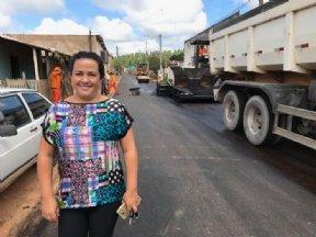 PREFEITA ACOMPANHA OBRAS DE RECAPEAMENTO E CONSTRUÇÃO DE GALERIAS PLUVIAIS NO BAIRRO TIJUCA