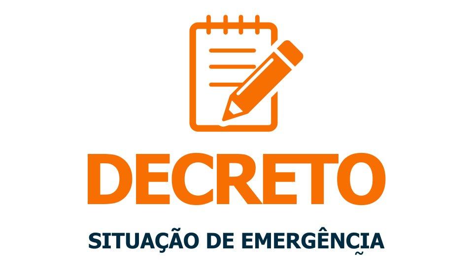 Resultado de imagem para decreto de emergencia municipal