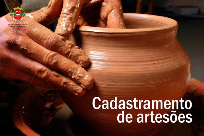 Coordenadoria de Cultura convoca artesões do município para cadastramento