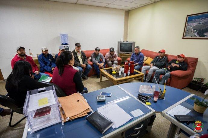 Prefeita recebe novos integrantes do Projeto Preparar para Trabalhar