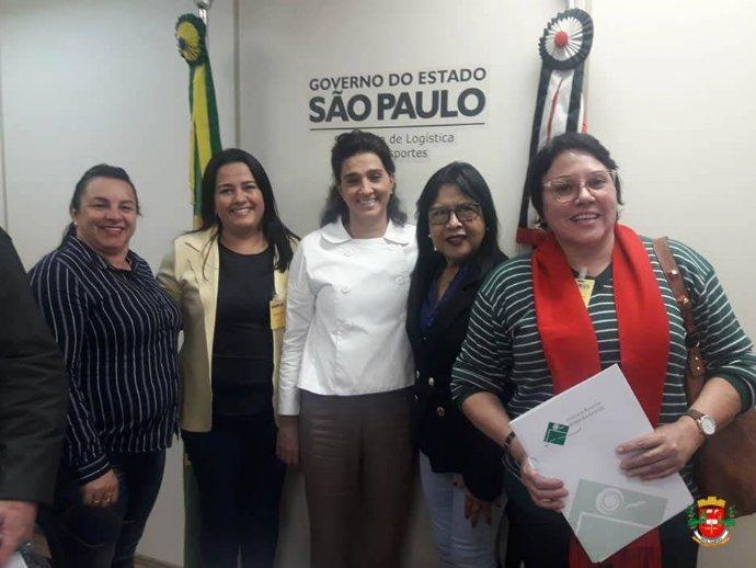 Em São Paulo prefeita Josi reivindica recuperação das vicinais do município