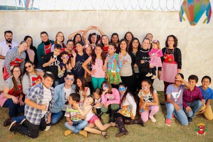 Cras promove Festa Julina para as crianças e adolescentes