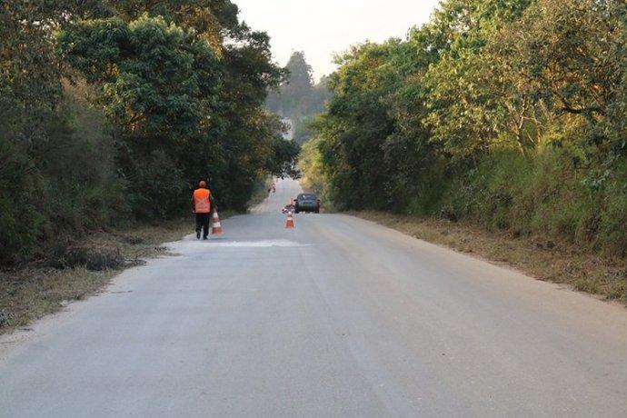 Prefeitura irá realizar uma operação de manutenção na Rodovia Luis José Sguario