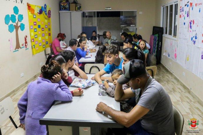 CRAS realiza bingo em comemoração ao Dia dos Pais