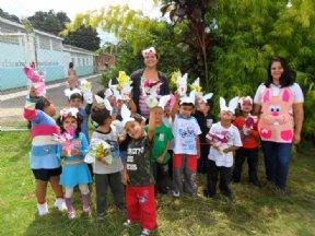 A Prefeitura Municipal realizou a entrega dos ovos de páscoa.