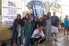 Alunos da EMEF Silvino de Lima, da Itaóca participaram do festival de dança em Itapeva.