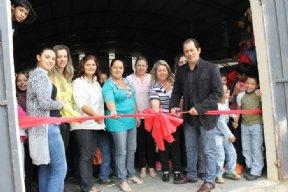 Inauguração do Programa Mais Educação na EMEF Dr. Humberto de Morais Vasconcelos.