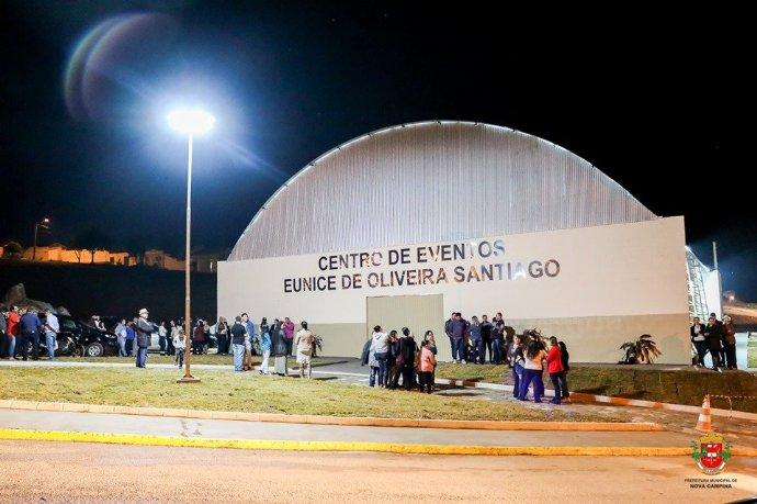 Inauguração do Centro de Eventos Eunice de Oliveira Santiago