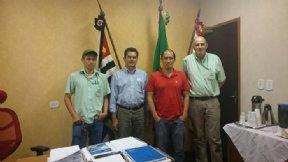 Prefeito trata de assuntos relacionados a recuperação da Rodovia Luis José Sguário.