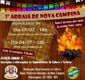 1º ARRAIÁ DE NOVA CAMPINA