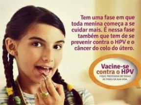 2ª dose da Vacina contra o HPV estará disponível a partir do dia 10/09 nas Unidades de Saúde.