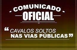 COMUNICADO OFICIAL.