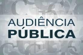 AVISO DE AUDIÊNCIA PÚBLICA!