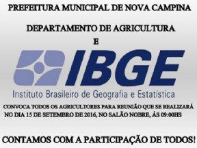 CONVITE AOS AGRICULTORES DE NOVA CAMPINA