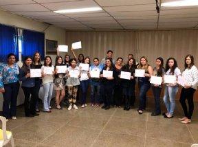 FUNDO SOCIAL REALIZA FORMATURA DO CURSO DE MAQUIAGEM