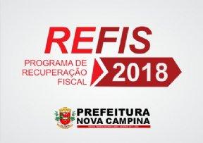 REFIS 2018 já está disponivel