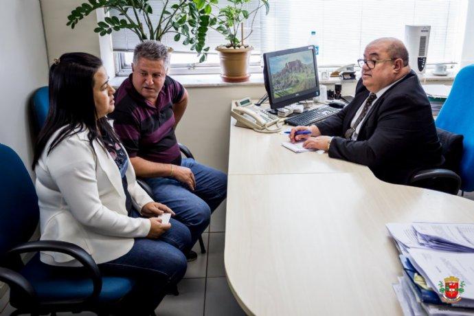 Prefeita Josi esteve em São Paulo cobrando emendas para o município