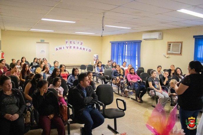 Fundo Social promove Chá das Mamães para gestantes do município