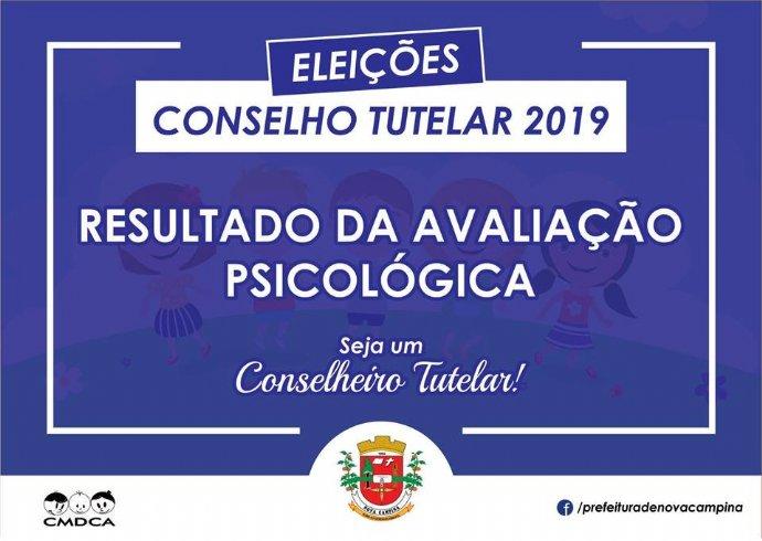 CMDCA divulga o resultado da avaliação psicológica para o Conselho Tutelar