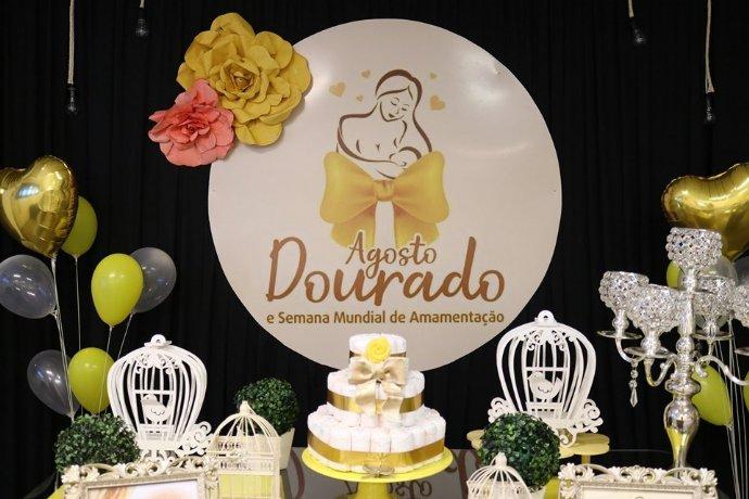 Secretaria de Saúde realizou evento para gestantes em comemoração à Campanha Agosto Dourado