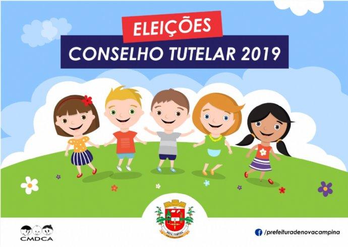 Eleição do Conselho Tutelar de Nova Campina acontece neste domingo
