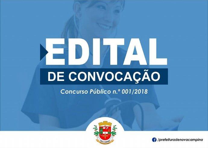 Prefeitura divulga edital de convocação para novos profissionais