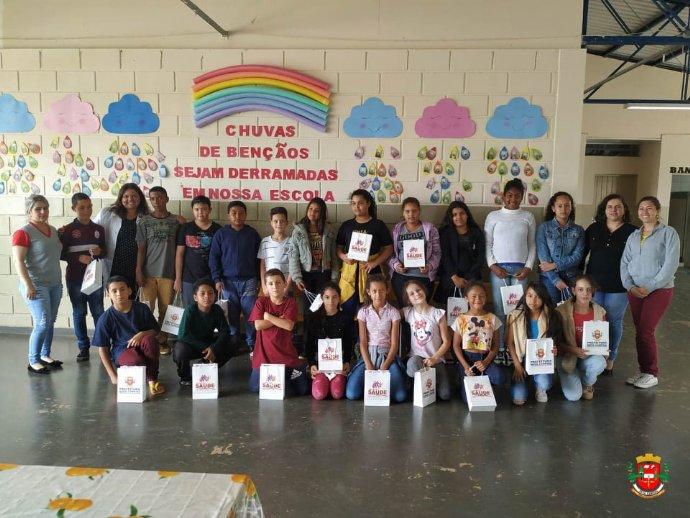 Prefeitura realiza Projeto Dentista na Escola