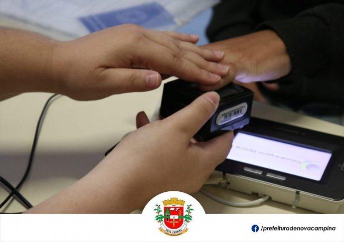 Cartório Eleitoral realiza recadastramento biométrico em Nova Campina