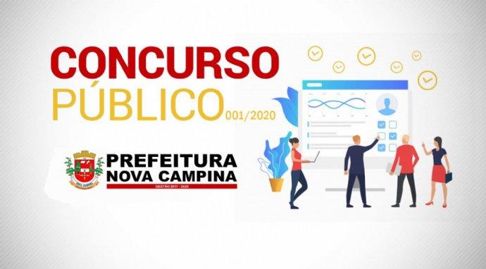 Prefeitura de Nova Campina abre concurso público com 34 vagas