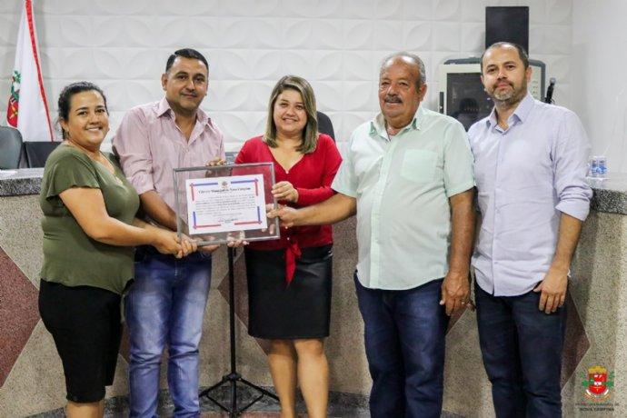 EMEF João Antonio da Silva recebe voto de congratulações da Câmara Municipal