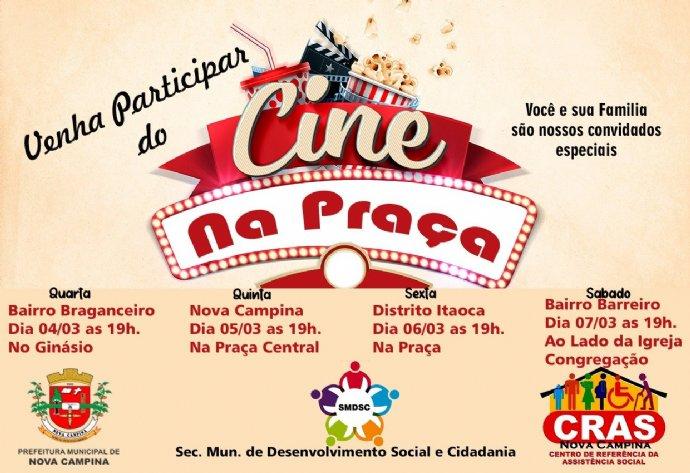Projeto Cine na Praça