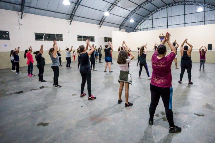 Coordenadoria de Cultura está oferecendo aulas de axé e funk
