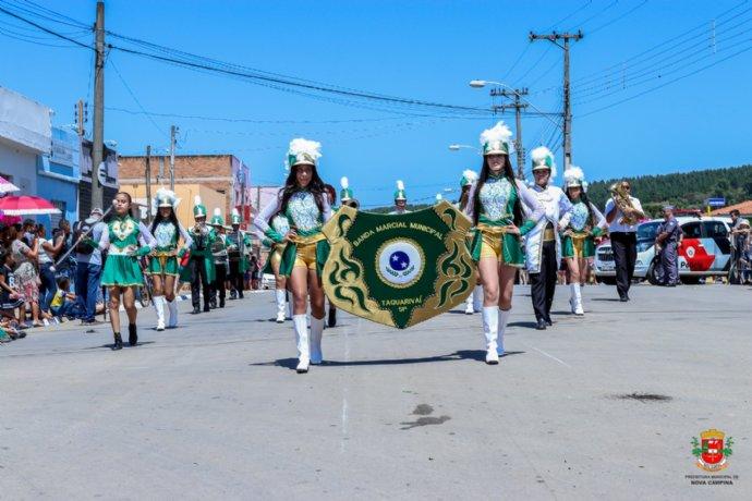 Meio Ambiente foi o tema deste ano do tradicional Desfile Cívico