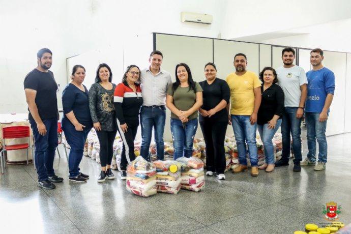 Prefeitura irá distribuir cestas básicas para famílias de alunos em vulnerabilidade