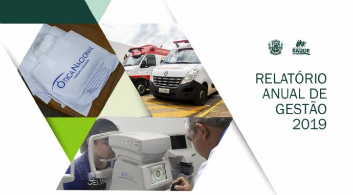 Secretaria de Saúde divulga Relatório Anual de Gestão 2019