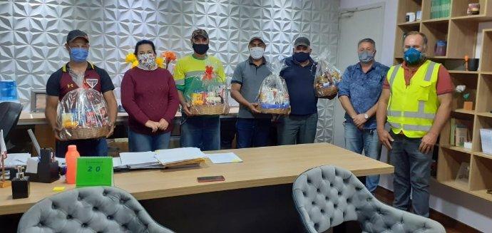 Garis de Nova Campina recebem homenagem pelo seu dia