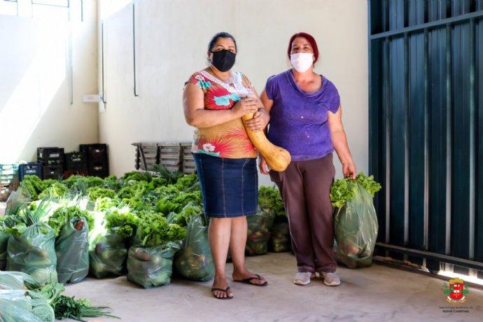 Prefeitura retoma as distribuições do PAA - Programa de Aquisição de Alimentos