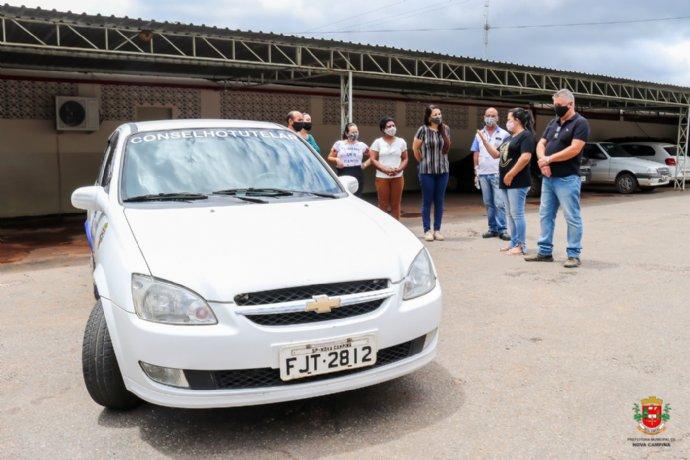 Prefeitura entrega novo veiculo para o Conselho Tutelar