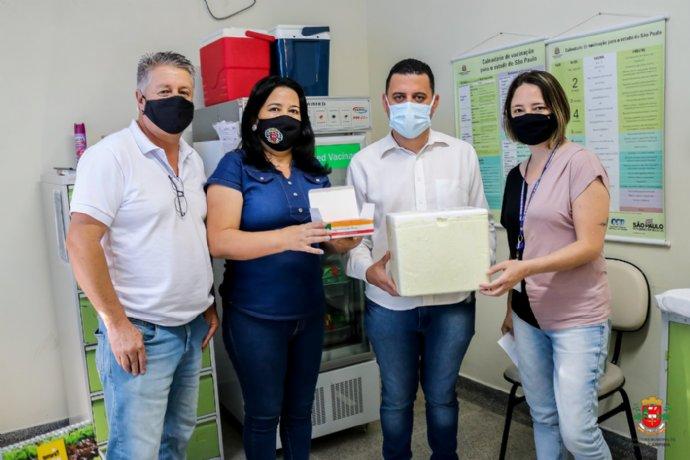 Nova Campina recebe as primeiras doses da vacina contra a Covid-19
