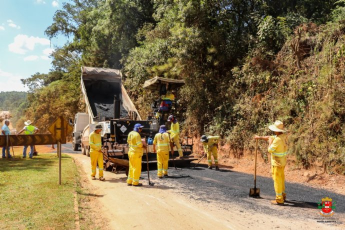 Prefeitura conclui recape dos trechos mais críticos da rodovia Luiz José Sguario