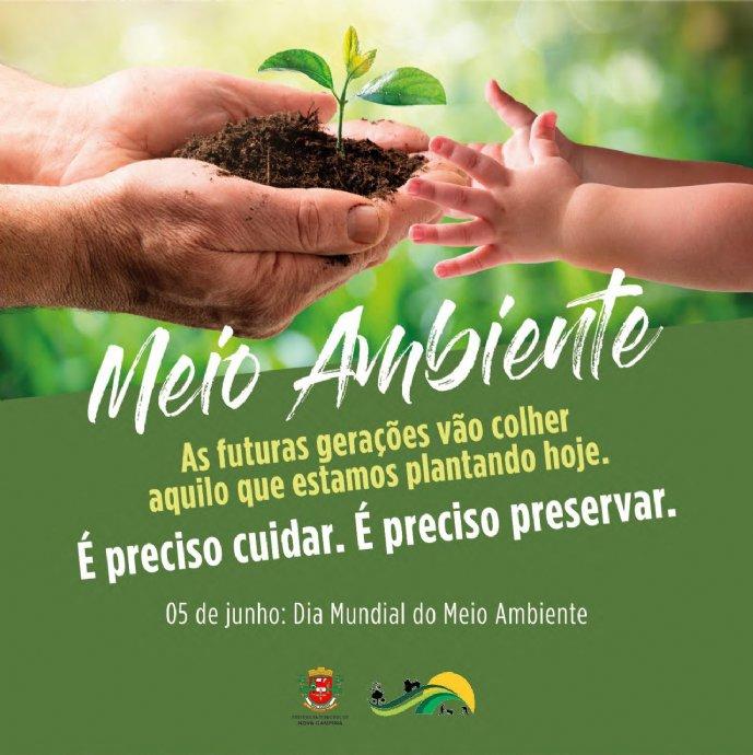 05 de junho. Dia Mundial do Meio Ambiente