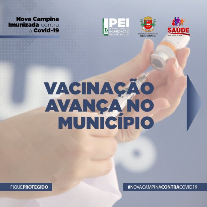 Atenção. Vacinação contra a Covid-19 desta semana