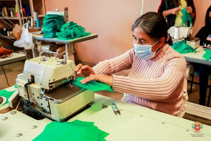 Programa Saúde no Campo entrega mascaras para a Secretaria de Saúde
